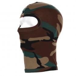 Cagoule recon 1 trou camouflage woodland | 101 Inc