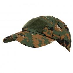 Casquette camouflage digital