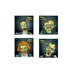 100 Cibles zombie 14 x 14 cm de la marque ASG