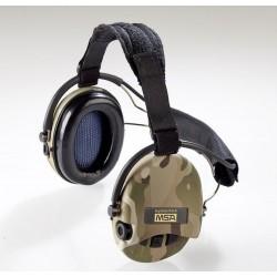 Casque anti-bruit Suprême pro-X serre-nuque camouflage CE | MSA
