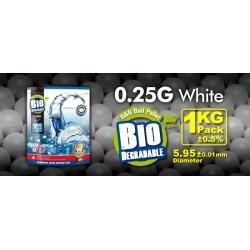 Billes bio 0,25 g en sachet de 1 Kg | G&G