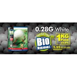 Billes bio 0,28 g en sachet de 1 Kg | G&G