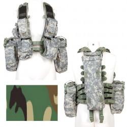 Gilet tactique camouflage woodland | 101 Inc