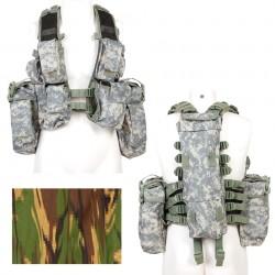 Gilet tactique camouflage Hollandais | 101 Inc