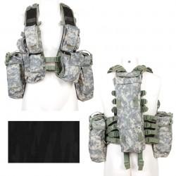 Gilet tactique camouflage nuit | 101 Inc