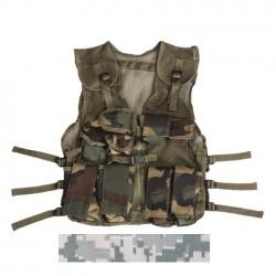 Gilet tactique enfant camouflage ACU | 101 Inc