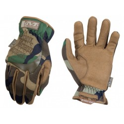Gants Fast-fit camouflage woodland | Mechanix