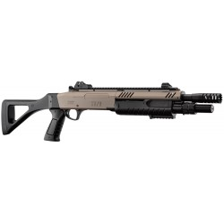 Réplique airsoft Fabarm STF/12-11 tan compact ressort   BO Manufacture