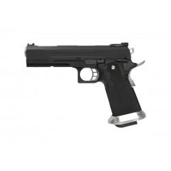 Réplique airsoft HX1102 full black gaz blow back | AW custom