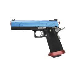 Réplique airsoft HX1005 split blue gaz blow back | AW custom