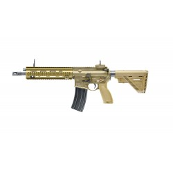 Réplique airsoft H&K 416 A5 tan gaz blow back | Umarex