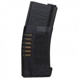 Chargeur noir 140 billes avec fausses douilles pour réplique airsoft de type M4 / M15 / M16 électrique | Amoeba