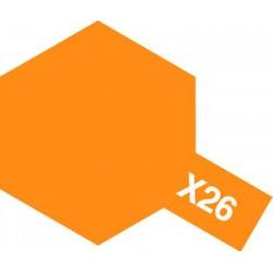 Peinture X26 orange translucide de la marque Tamiya