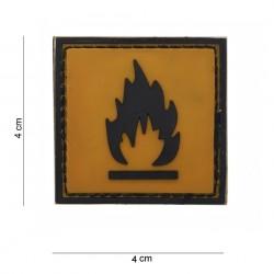"Patch 3D PVC ""Inflammable"", 101 Inc"
