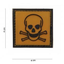 "Patch 3D PVC ""Toxic"", 101 Inc"