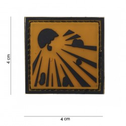 "Patch 3D PVC ""Explosive"", 101 Inc"