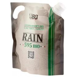 Billes airsoft biodégradables Rain 0.23 gramme en sachet de 3500 billes de la marque BO Manufacture