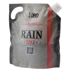 Billes airsoft Rain 0.23 gramme en sachet de 3500 billes de la marque BO Manufacture