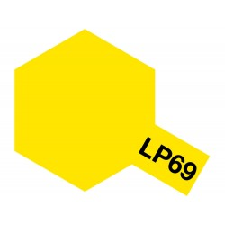 Peinture pour maquette plastique de couleur LP69 Jaune translucide 10 ml de la marque Tamiya