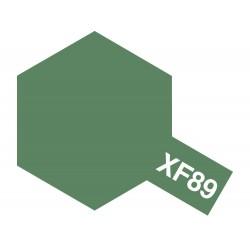 Peinture pour maquette plastique de couleur XF89 Vert foncé 2 10 ml de la marque Tamiya (81789)