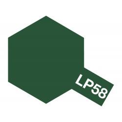 Peinture pour maquette plastique de couleur LP58 Vert OTAN 10 ml de la marque Tamiya