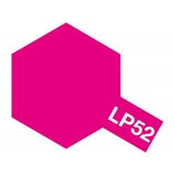 Peinture pour maquette plastique de couleur LP52 Rouge translucide 10 ml de la marque Tamiya
