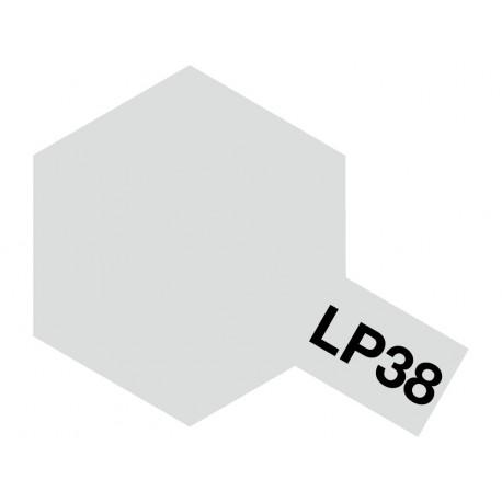 Peinture pour maquette plastique de couleur LP38 Aluminium mat 10 ml de la marque Tamiya (82138)