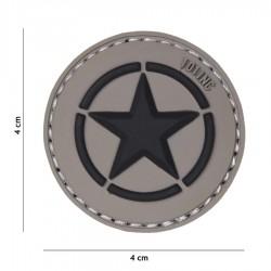 Patch 3D PVC Allied star gris de la marque 101 Inc