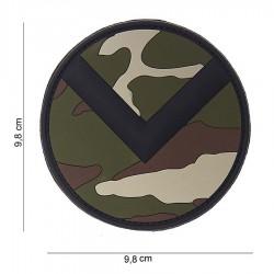 Patch 3D PVC Spartaan shield