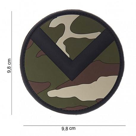 Patch 3D PVC Spartaan shield de la marque 101 Inc