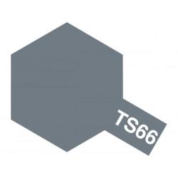 Peinture en spray pour maquette plastique. La couleur est TS66 Gris Japonais Kure mat 100 ml de la marque Tamiya