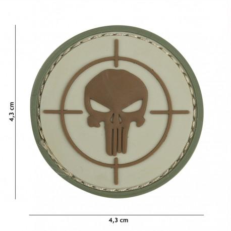 Patch 3D PVC Punisher sight de la marque 101 Inc (444130-5346)