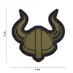 Patch 3D PVC Vicking helmet