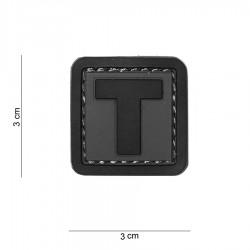 Patch 3D PVC T avec velcro de la marque 101 Inc (444100-3994)