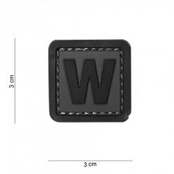 Patch 3D PVC W avec velcro de la marque 101 Inc (444100-3997)