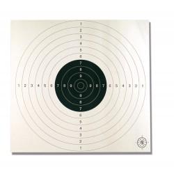 100 Cibles 53 x 53 cm de la marque Europ-arm (A52290)
