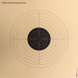 250 Cibles 34 x 34 cm de la marque Europ-arm (A52273)
