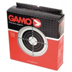 100 Cibles 14 x 14 cm de la marque Gamo (A54100)