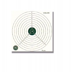 1000 Cibles 15 x 15 cm de la marque Europ-arm (A52250)