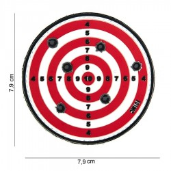 Patch 3D PVC Target avec velcro de la marque 101 Inc (444130-3892)