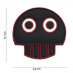 Patch 3D PVC Big eye skull avec velcro de la marque 101 Inc (444130-3967)