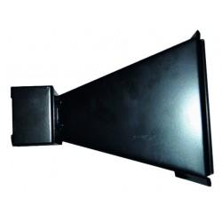 Porte cible métal 14 x 14 cm