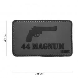 """Patch 3D PVC """"44 Magnum"""" avec velcro, 101 Inc"""