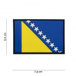 """Patch 3D PVC """"Bosnie"""" avec velcro, 101 Inc"""