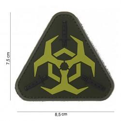 """Patch 3D PVC """"Outbreak response"""" vert pale avec velcro, 101 Inc"""