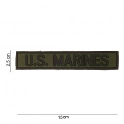 "Patch 3D PVC ""US Marines"" avec velcro, 101 Inc"