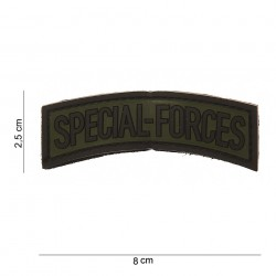"Patch 3D PVC ""Special Forces"" avec velcro, 101 Inc"