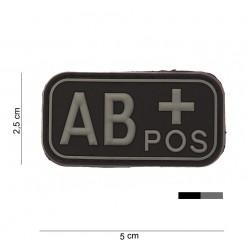 Patch 3D PVC AB + noir