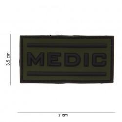 """Patch 3D PVC """"Medic"""" OD avec velcro, 101 Inc"""