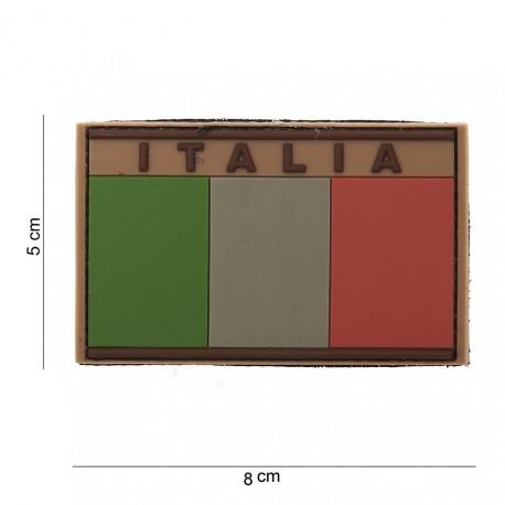 """Patch 3D PVC """"Italie"""" désert avec velcro, 101 Inc"""